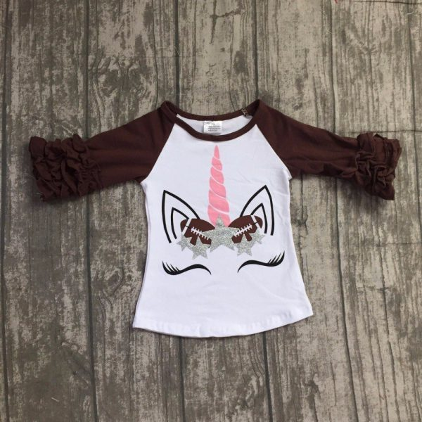 Unicorn Football Autumn icing brouwn tshirt outfit