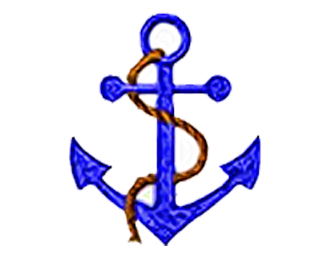 SHIPS ANCHOR DESIGN EMBROIDERY
