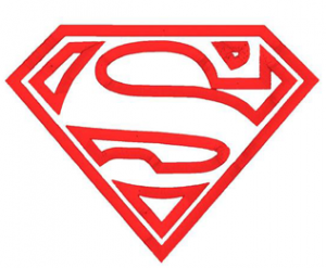 Superman Logo Applique Machine Embroidery Design