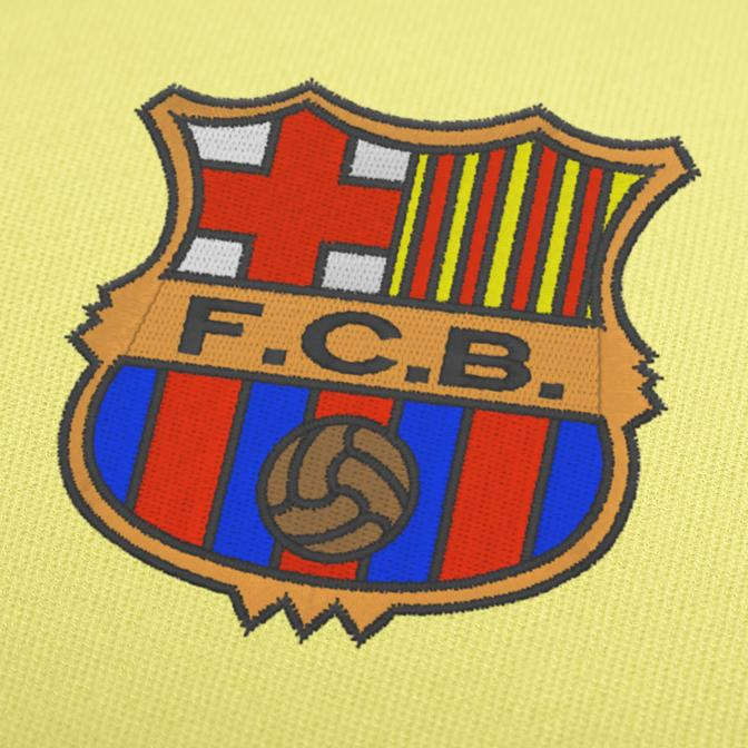 FC-Barcelona Old Logo Machine Embroidery Design