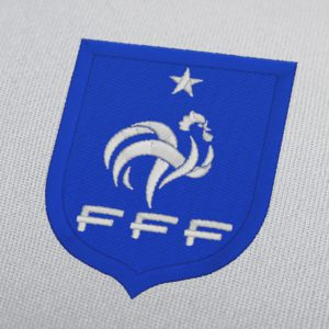 French Football Federation Machine Embroidery Design