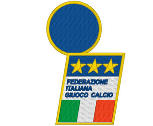 Italian Football Federation FIGC Calcio Machine Embroidery Design