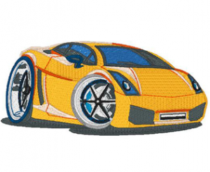 Lamborghini Machine Embroidery Design