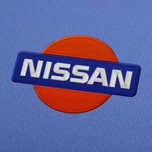 Nissan Logo Machine Embroidery Design