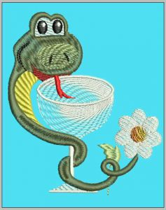 snake_embroidery_design