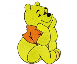 Winnie Pooh machine embroidery design