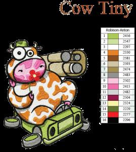 Cow-I-Don't-Like-War EMB DESIGN