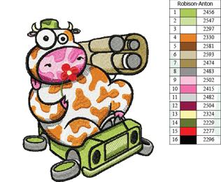 Cow---I-Don't-Like-War,-I-Like-Flower---Embroidery-Design