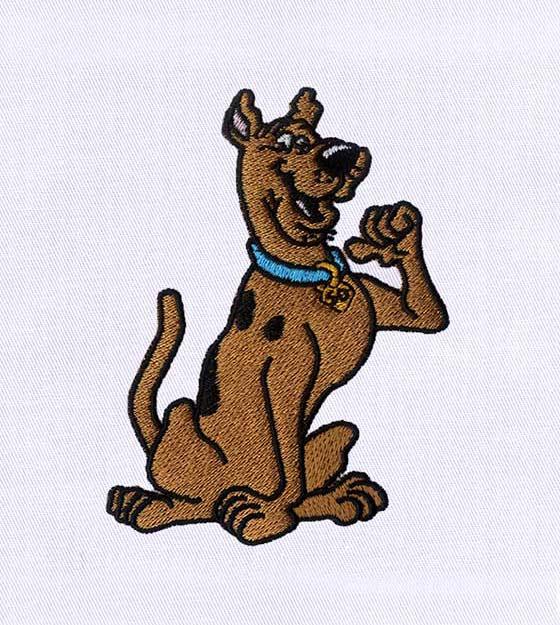 Delightful Scooby Doo EMB DESIGN