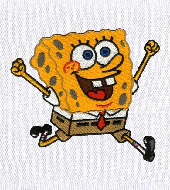 SpongeBob 4x4 emb design
