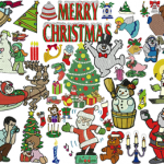 +130 Christmas Embroidery Designs Collection .sew .pes .jef … INSTANT DOWNLOAD