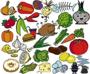 Food,Gardens and Vegetables +50 Embroidery Designs Collection