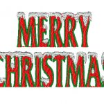 merryxmas christmas embroidery design .hus .vip .pes .jef … INSTANT DOWNLOAD